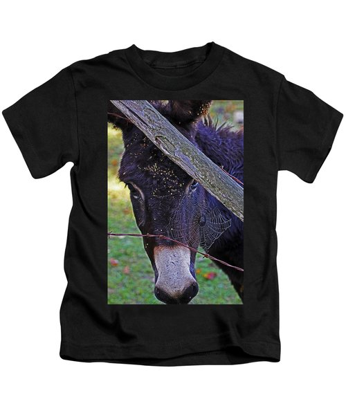 Caught In The Web Kids T-Shirt