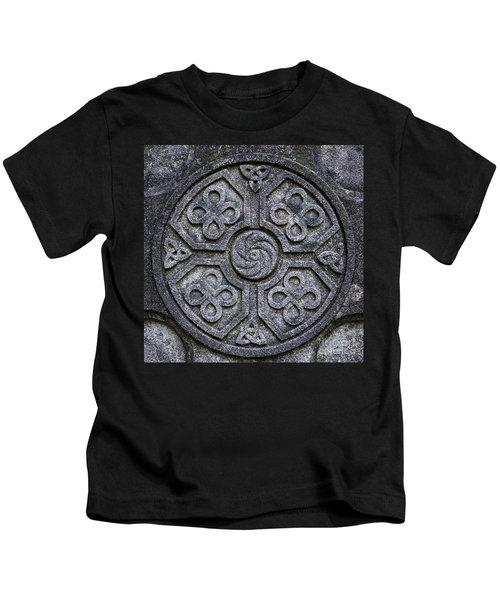 Celtic Cross Symbolism Kids T-Shirt