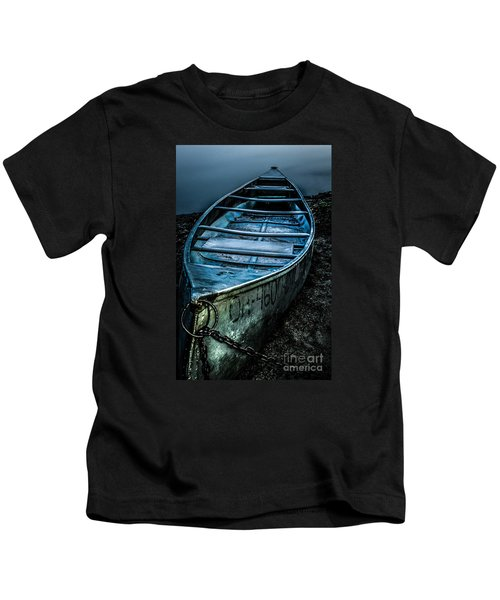 Chained At The Waters Edge Kids T-Shirt