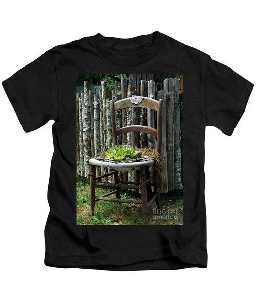 Chair Planter Kids T-Shirt