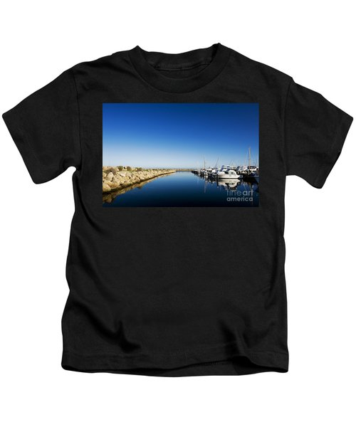 Challenger Harbour Of Fremantle Kids T-Shirt