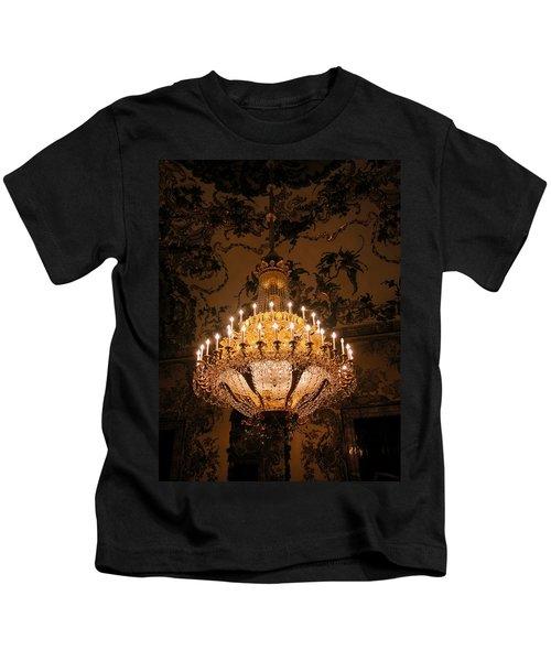 Chandelier Palacio Real Kids T-Shirt