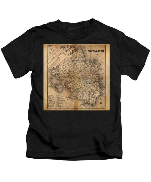 Charleston Vintage Map No. I Kids T-Shirt