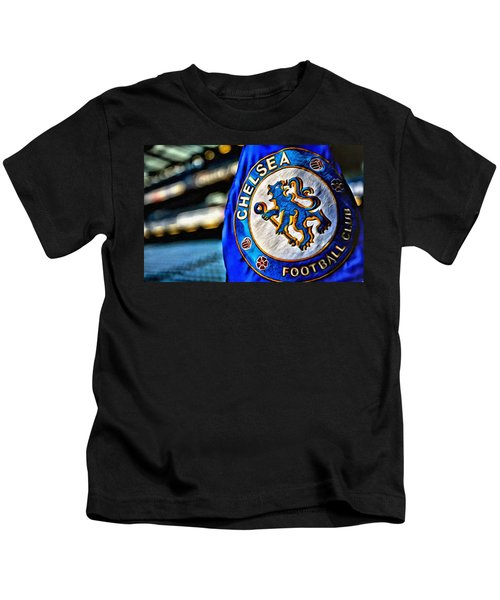 Chelsea Football Club Poster Kids T-Shirt