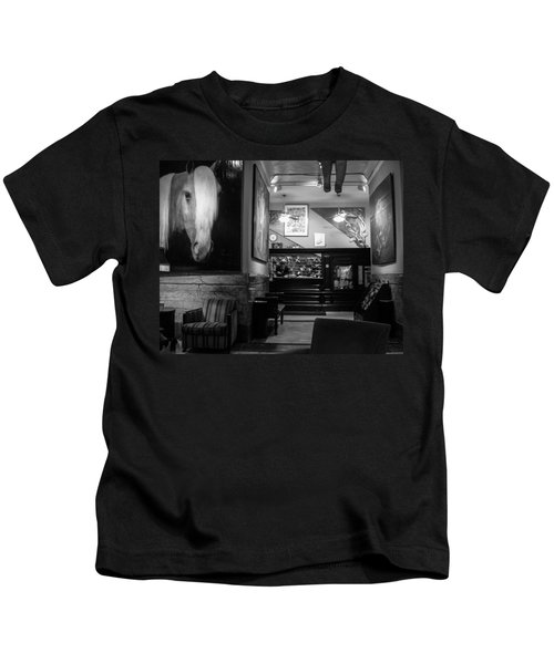 Chelsea Hotel Night Clerk Kids T-Shirt
