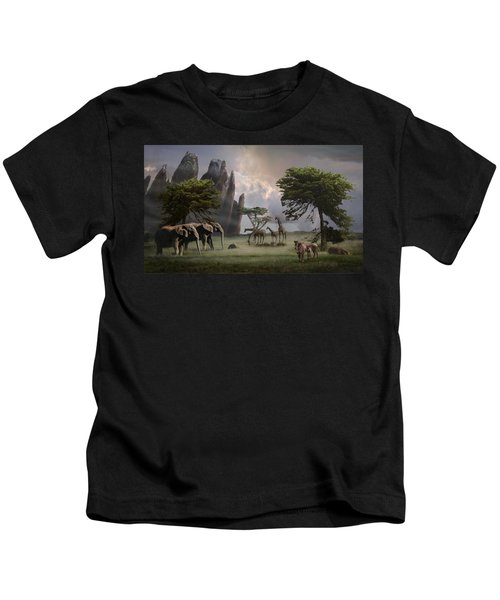 Cherish Our Earth's Creatures Kids T-Shirt