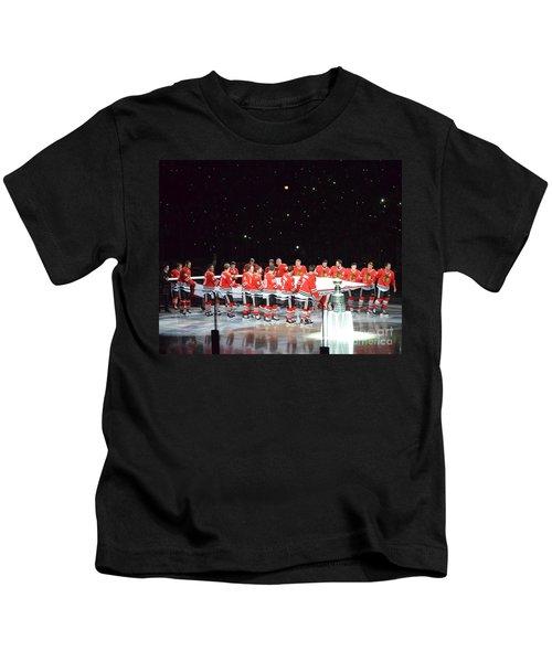 Chicago Blackhawks And The Banner Kids T-Shirt