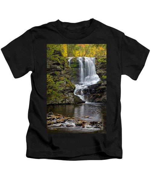 Childs Park Waterfall Kids T-Shirt