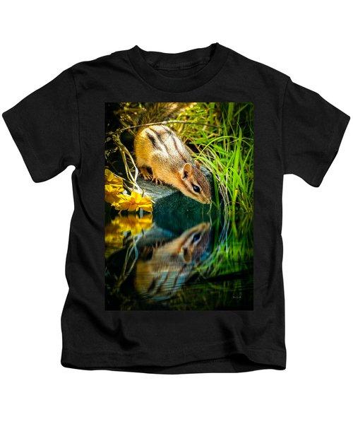 Chipmunk Reflection Kids T-Shirt