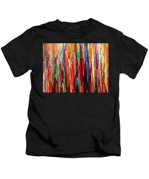 A Rainbow Melting  Kids T-Shirt