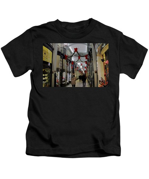 Christmas In Piccadilly Arcade Kids T-Shirt