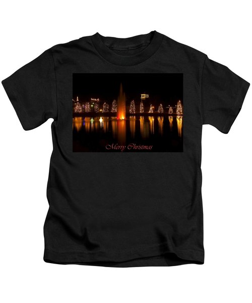 Christmas Reflection - Christmas Card Kids T-Shirt