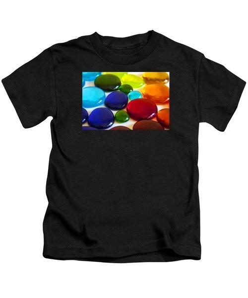Circles Of Color Kids T-Shirt