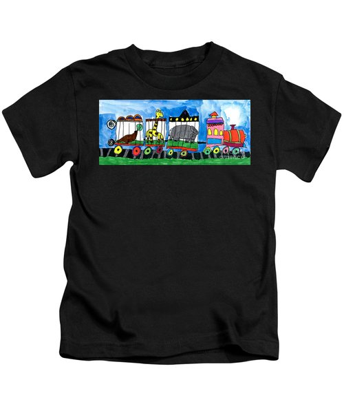 Circus Train Kids T-Shirt
