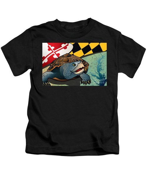 Citizen Terrapin Maryland's Turtle Kids T-Shirt