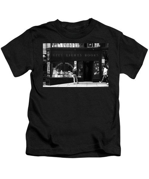 City Lights Bookstore - San Francisco Kids T-Shirt