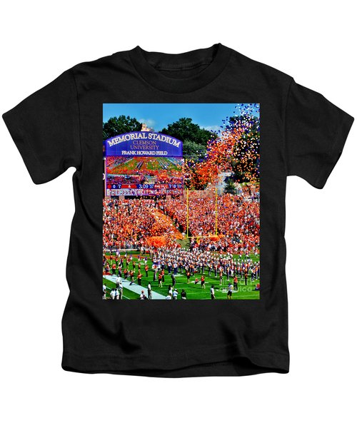 Clemson Tigers Memorial Stadium Kids T-Shirt