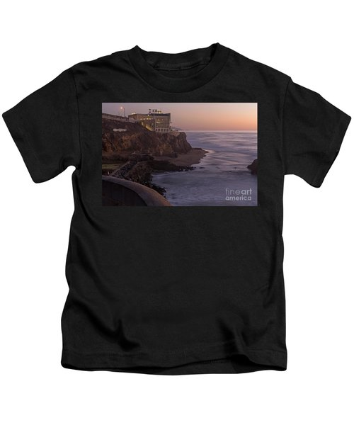 Cliff House Sunset Kids T-Shirt