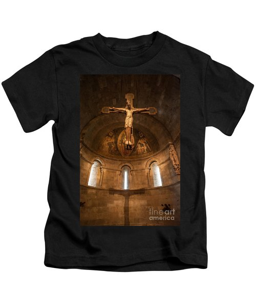 Cloisters Crucifixion Kids T-Shirt
