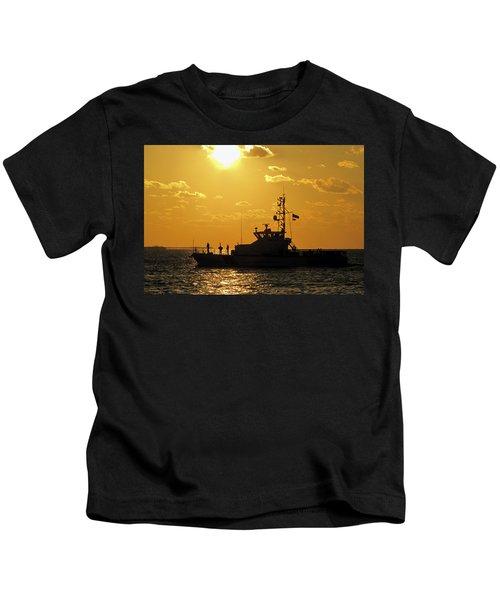 Coast Guard In Paradise - Key West Kids T-Shirt