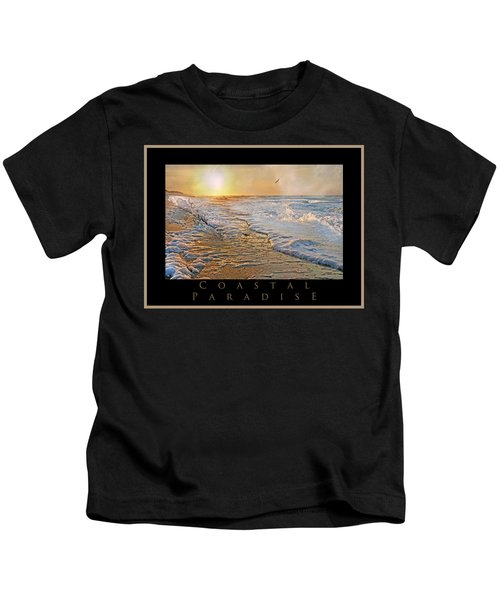 Coastal Paradise Kids T-Shirt