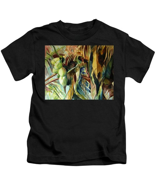 Coconuts And Palm Fronds 5-16-11 Julianne Felton Kids T-Shirt
