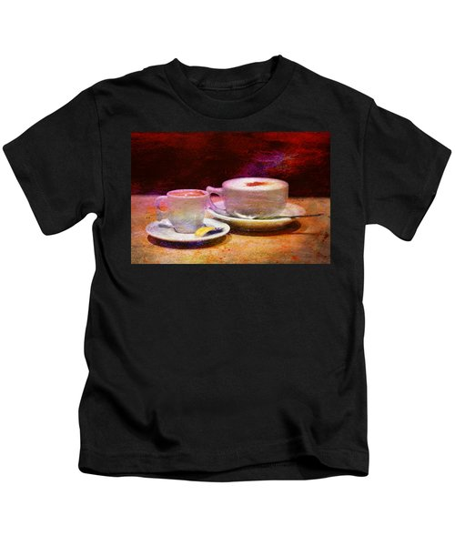 Coffee For Two Kids T-Shirt