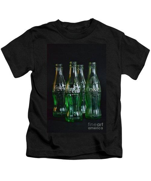 Coke Bottles From The 1950s Kids T-Shirt
