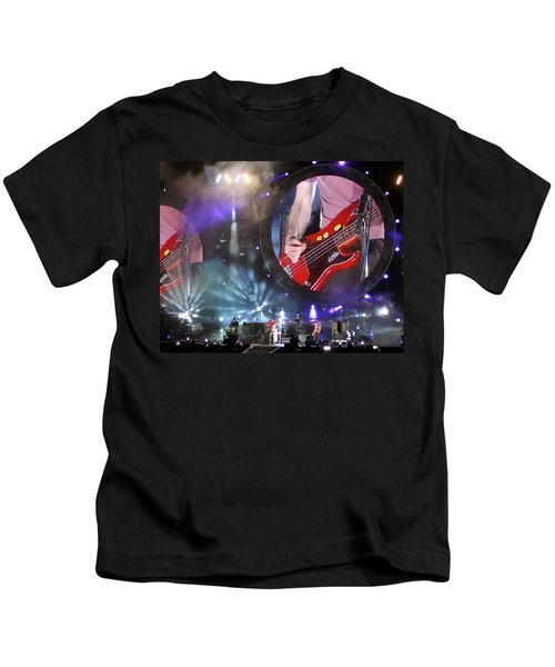 Coldplay - Sydney 2012 Kids T-Shirt by Chris Cousins