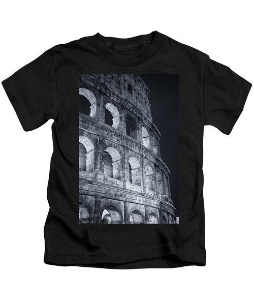 Colosseum Before Dawn Kids T-Shirt