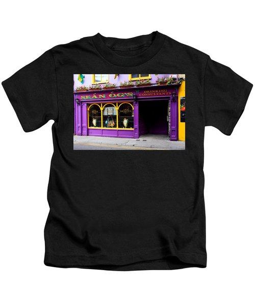 Colorful Irish Pub Kids T-Shirt