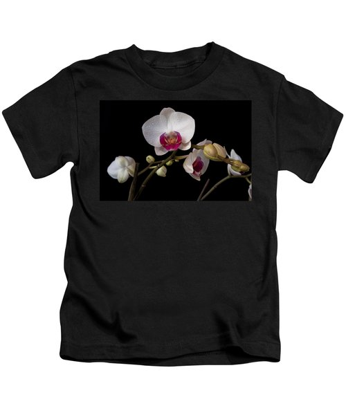 Colorful Moth Orchid Kids T-Shirt