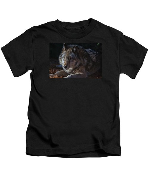 Colors Of A Wolf Kids T-Shirt