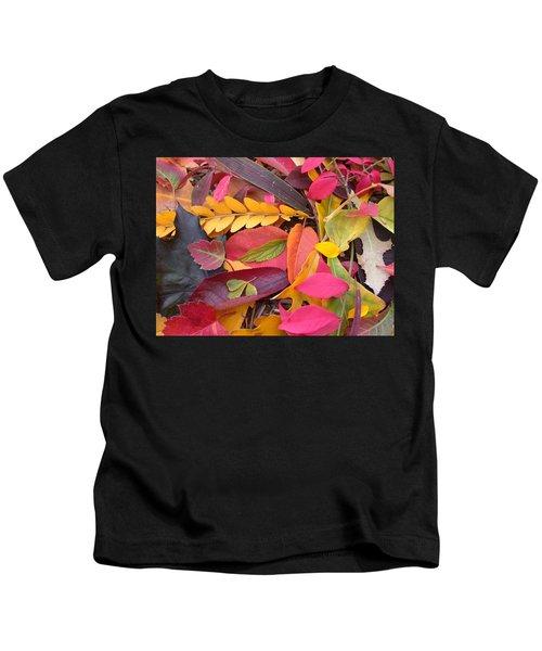 Colors Of Autumn Kids T-Shirt