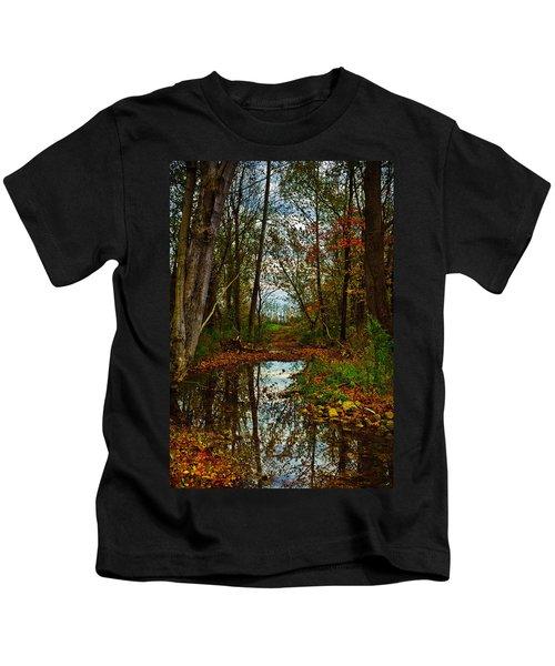 Colors Of Fall Kids T-Shirt