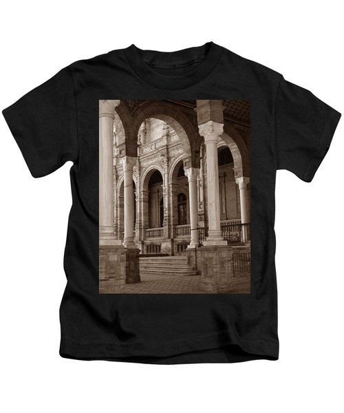 Columns And Arches Kids T-Shirt