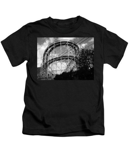 Coney Island Roller Coaster Kids T-Shirt