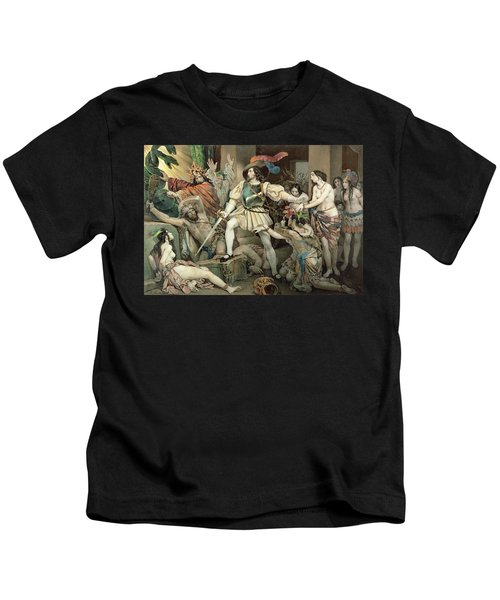Conquest Of Mexico Hernando Cortes Kids T-Shirt