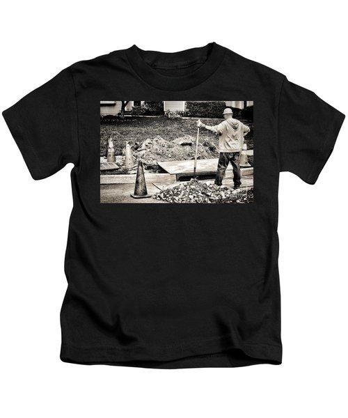 Construction Worker Kids T-Shirt