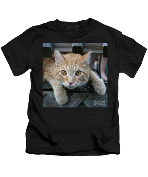 Cool Cat Named Calvin Kids T-Shirt