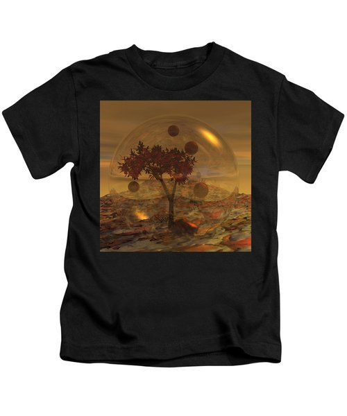 Copper Terrarium Kids T-Shirt
