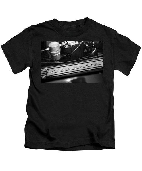 Corvette Valve Cover Kids T-Shirt