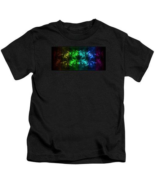 Cosmic Alien Eyes Pride Kids T-Shirt