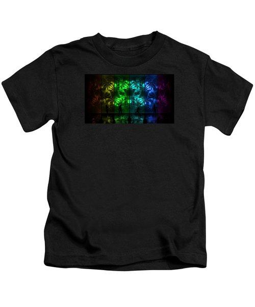 Cosmic Alien Vixens Pride Kids T-Shirt