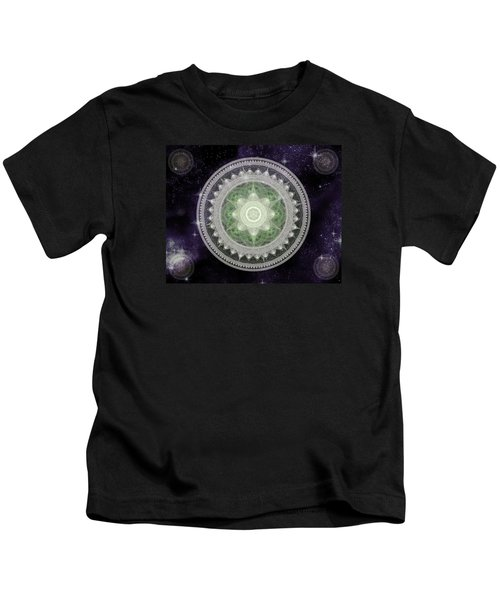 Cosmic Medallions Earth Kids T-Shirt