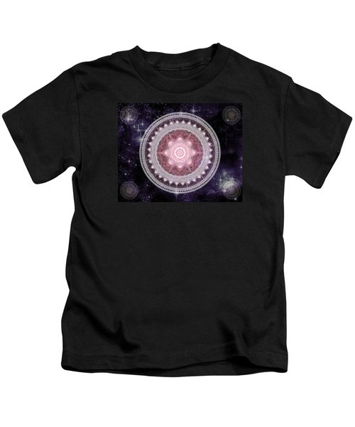 Cosmic Medallions Fire Kids T-Shirt