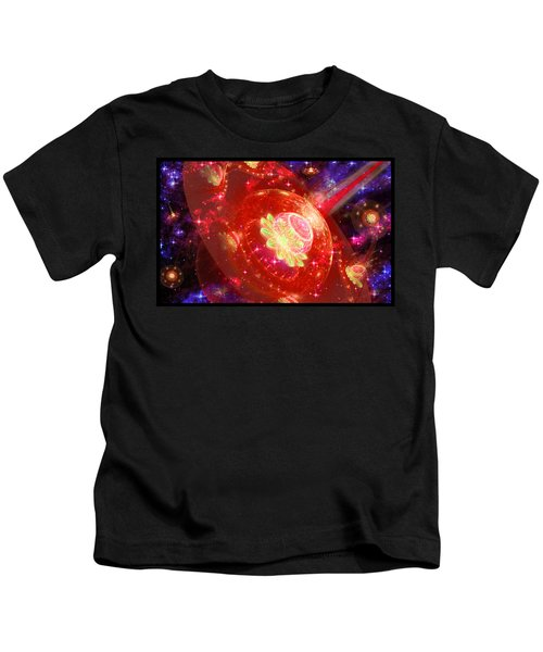 Cosmic Space Station Kids T-Shirt