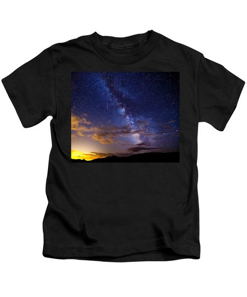 Cosmic Traveler  Kids T-Shirt