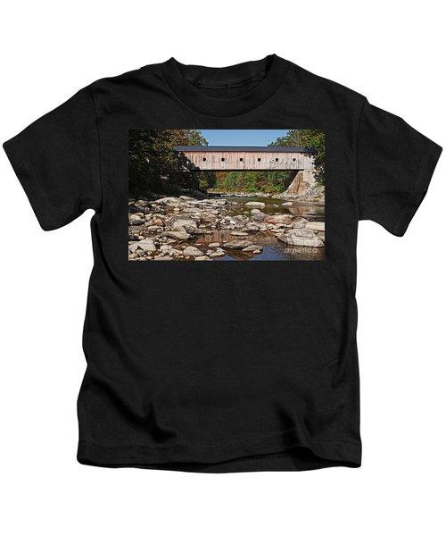 Covered Bridge Vermont 7 Kids T-Shirt