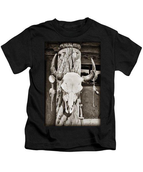 Cow Skull Kids T-Shirt